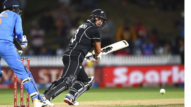 Ross Taylor has acted as the backbone of the Kiwi batting line up in this series.