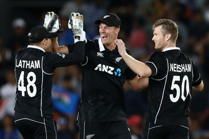 New Zealand v India - ODI: Game 2