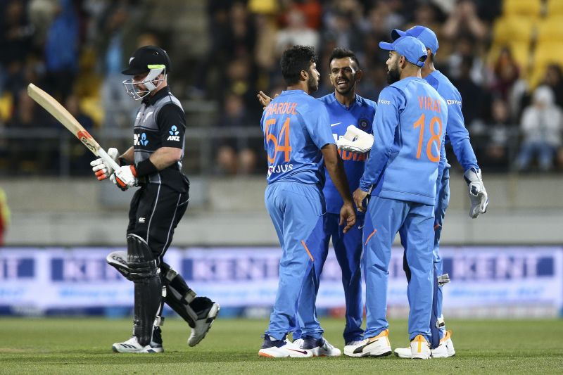 India completed a whitewash of the Black Caps