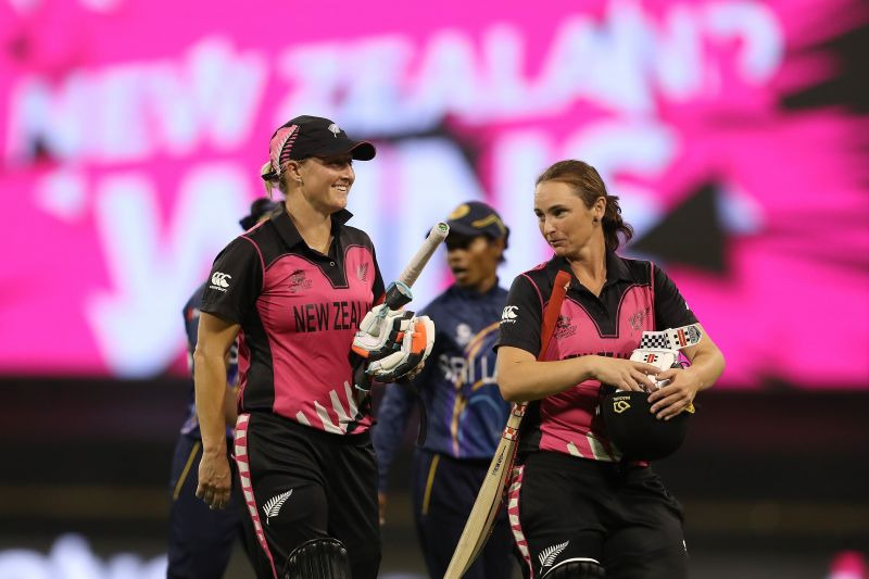 Sophie Devine completed her sixth consecutive score of fifty-plus in T20Is