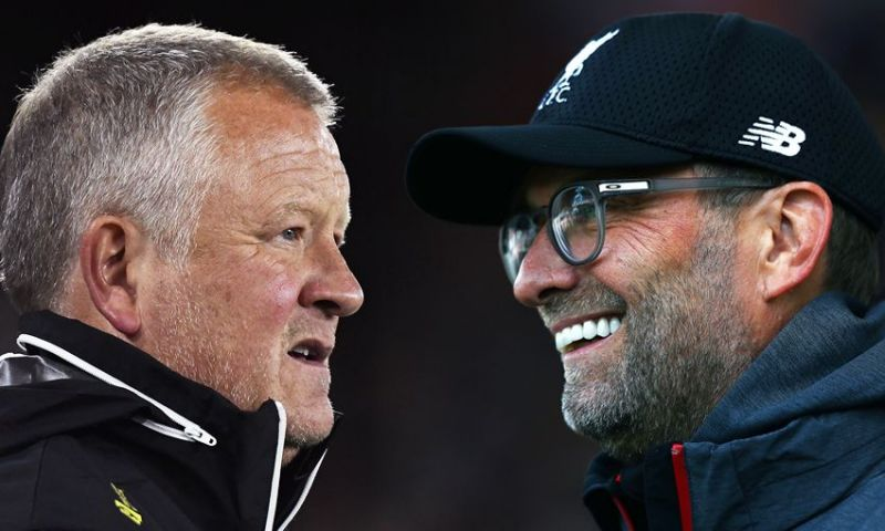 Jurgen Klopp and Chris Wilder are the two favourites for the Premier League Manager of the Season award