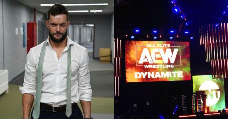 F inn Balor/ AEW Dynamite Stage.