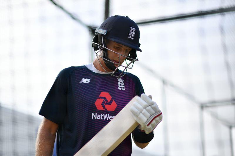 England Test skipper Joe Root in nets