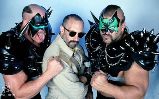 Legion of Doom Hawk, Paul Ellering, and Animal
