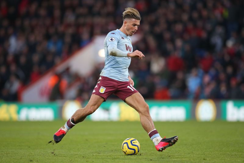 Jack Grealish saw a goal controversially ruled out against Burnley