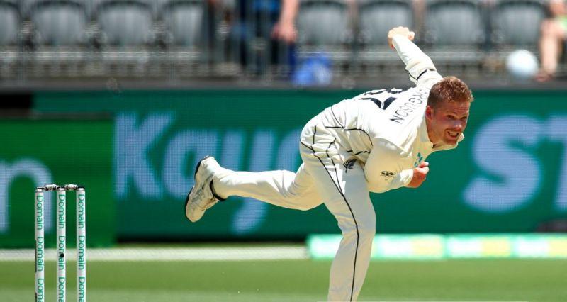 L ockie Ferguson got injured in the Perth Test against Australia at the Optus Stadium