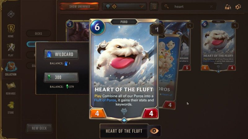 Heart of the Fluft is an incredibly powerful late game card