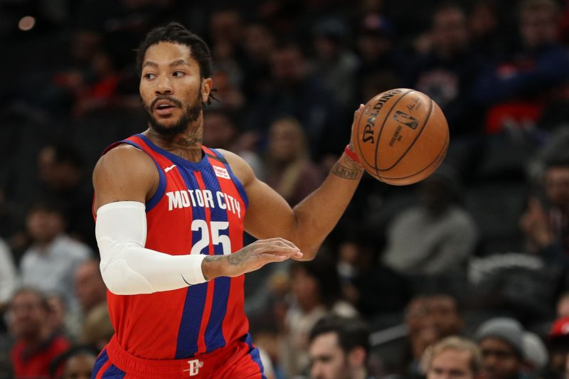 Derrick Rose has enjoyed another resurgent year with the Detroit Pistons