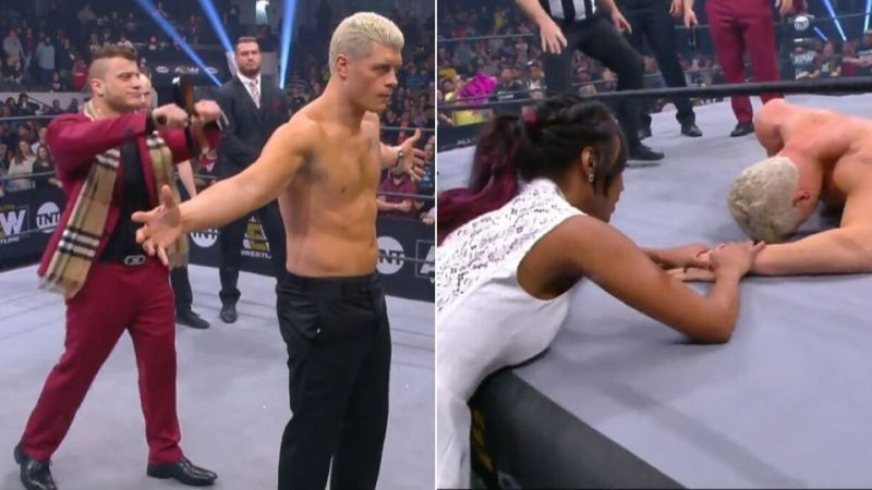 AEW Dynamite Results: Cody gets 10 lashes; Fan attacks wrestler during show