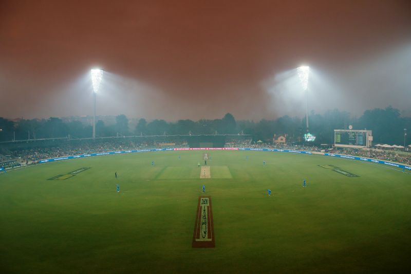 Rain is expected to interrupt the proceedings at SCG on Saturday