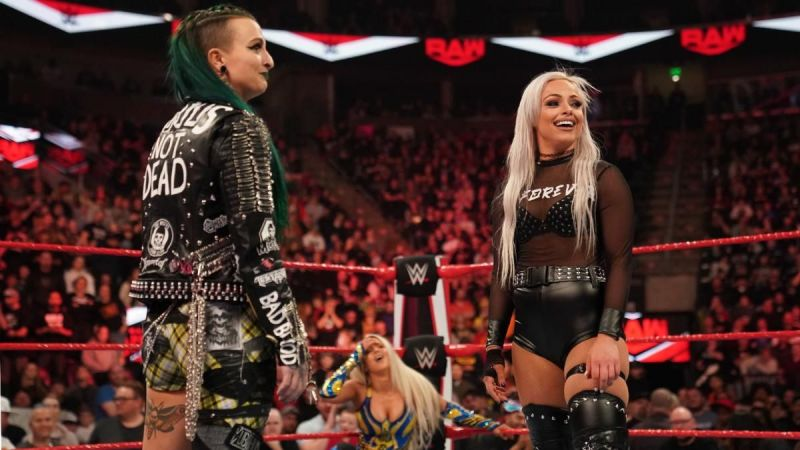 Ruby Riott appeared on RAW for the first time in nine months