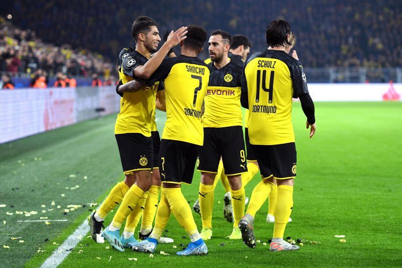 Borussia Dortmund are up against PSG in the Round of 16