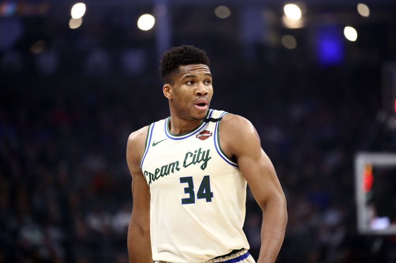 Giannis Antetokounmpo is leading the charge for the Bucks