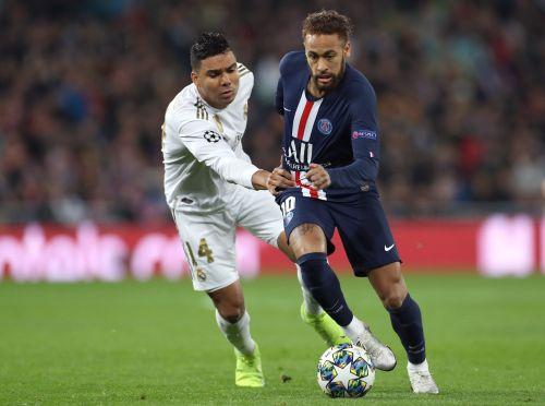 Neymar has contributed to 25 goals in 18 games this season for PSG.