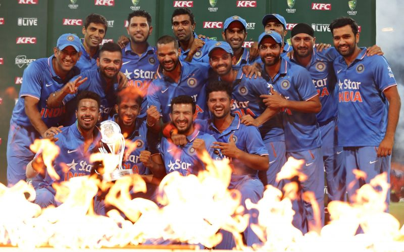 India white-washed Australia during the 3 T20I series in 2016