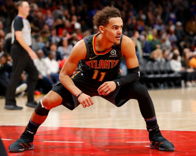 Trae is having a career year with the Hawks