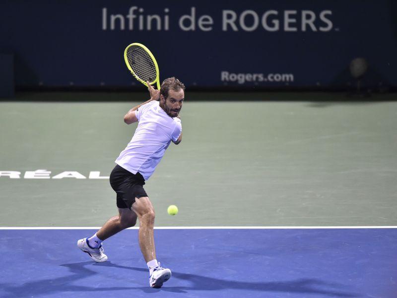 Richard Gasquet is one of the many dangerous floaters in the bottom half.