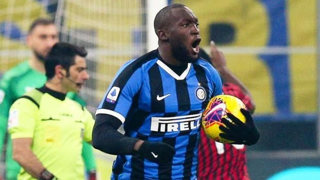 A 4-2 win over AC Milan has taken Inter to the top of the table