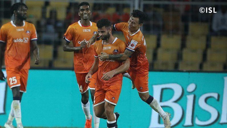FC Goa put on a 5-star performance (Image: ISL)