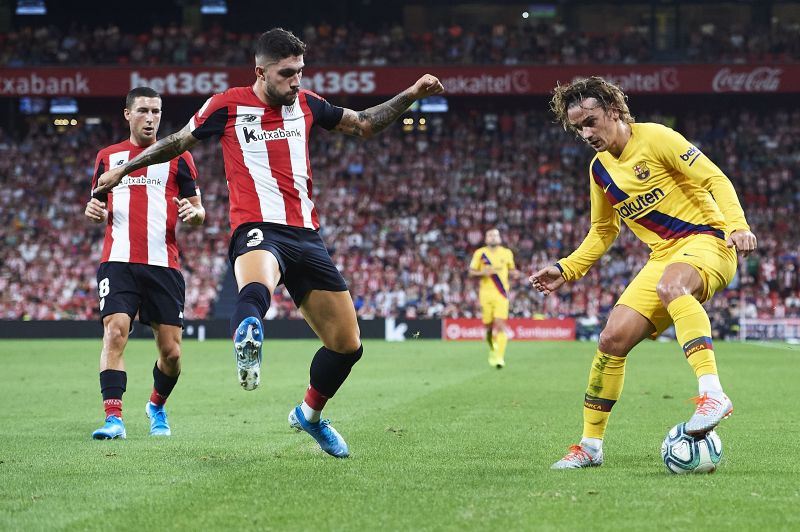 Athletic Club defeated Barcelona in the Copa del Rey