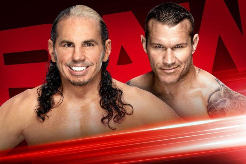 Matt Hardy vs Randy Orton