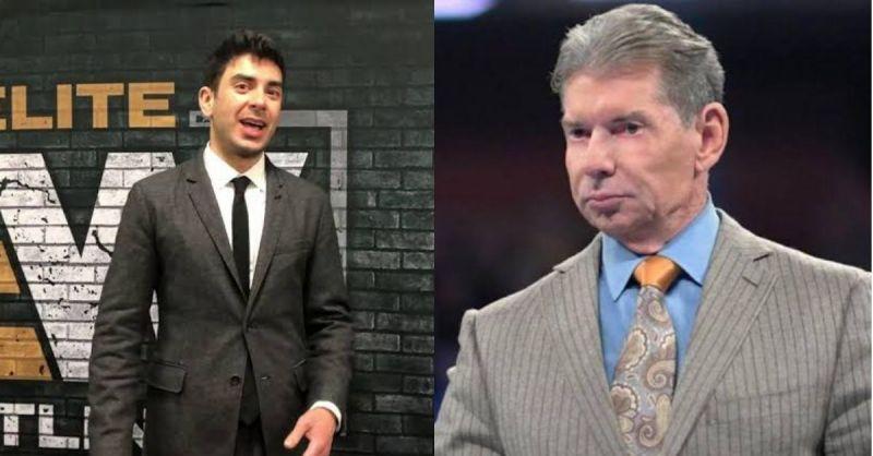 Tony Khan and Vince McMahon