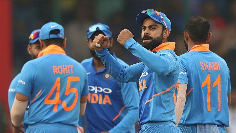 Kohli and his men won the T20I series 5-0