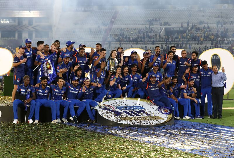 Mumbai Indians are the defending champions of the IPL