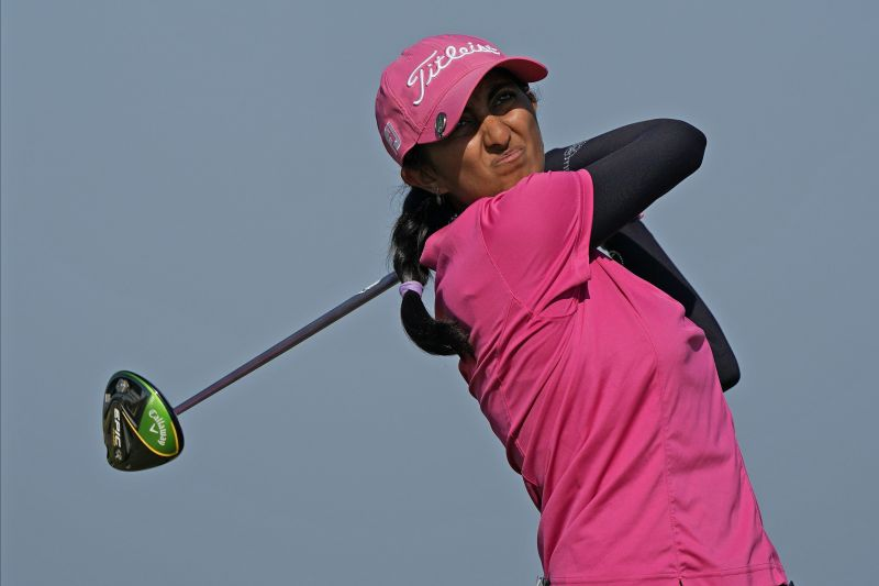 Back then, Aditi Ashok was just a teen golfer who made it to the finals