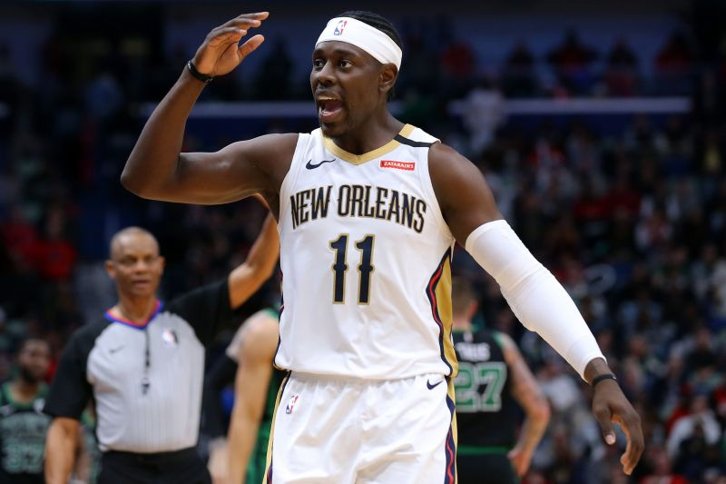 Jrue Holiday is believed to be among the players interesting the Miami Heat