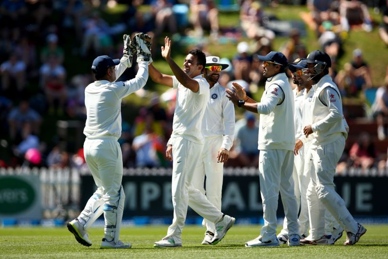New Zealand v India Test match. File Pic