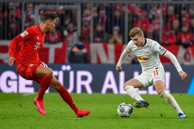 Honours even between Bayern Munich and RB Leipzig