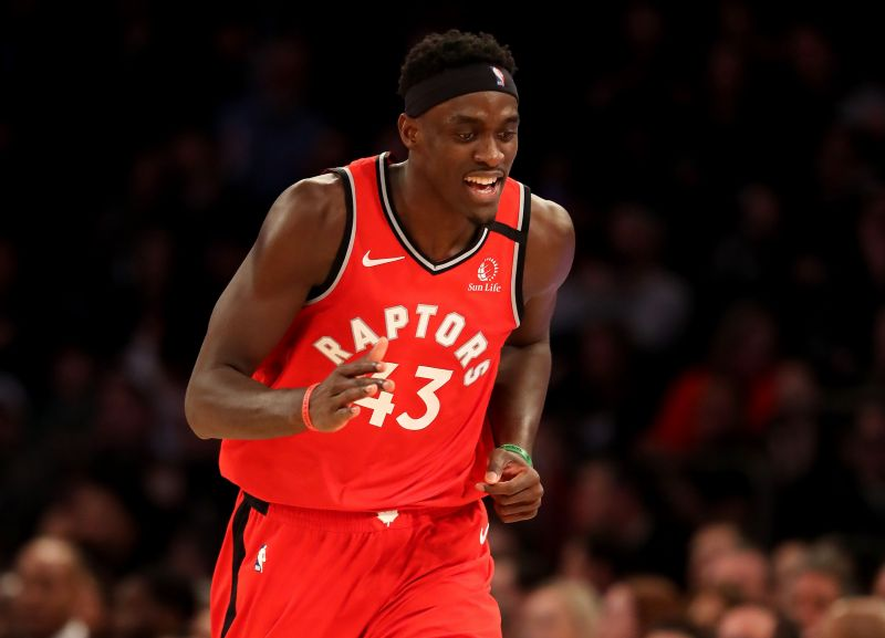 Pascal Siakam and the Toronto Raptors host the Indiana Pacers