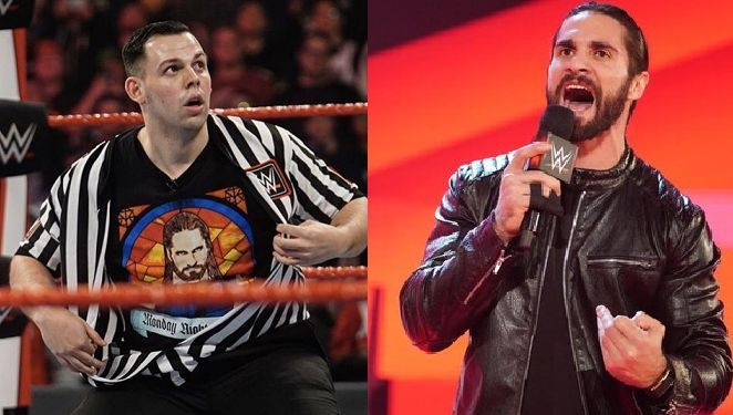 The crooked referee and Rollins