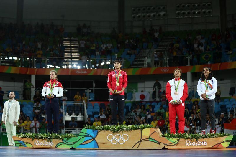 Sakshi Malik making India proud.