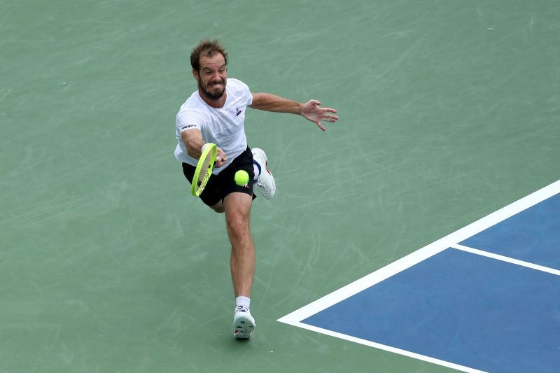 Coming off an injury, Gasquet