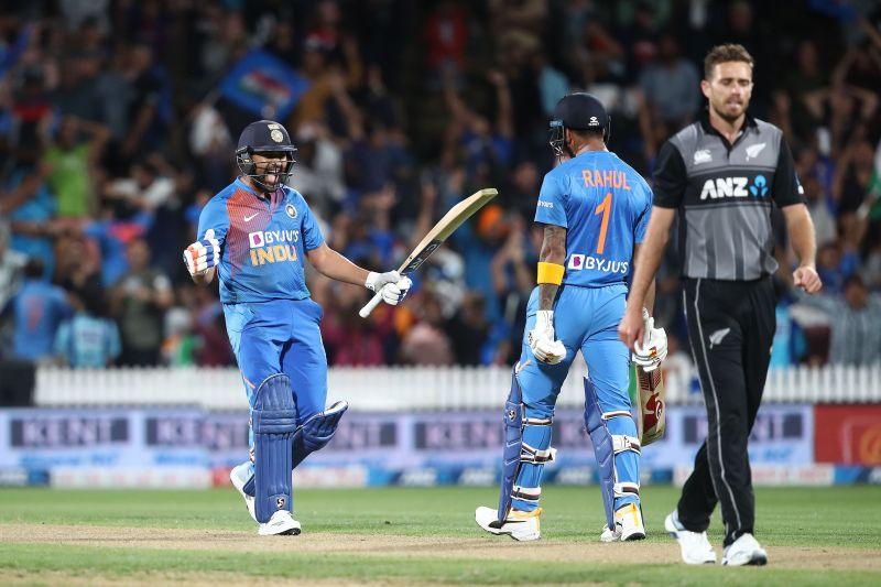 New Zealand v India - T20: Game 3