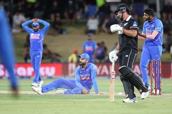 तीन मैचों की वनडे सीरीज में पहली बार भारतीय टीम का हुआ वाइटवॉश