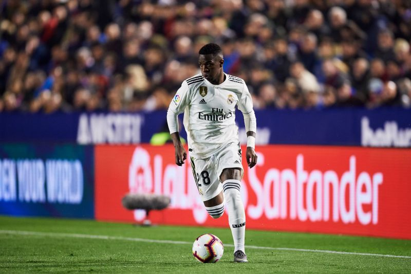 Vinicius showed his talent in the derby