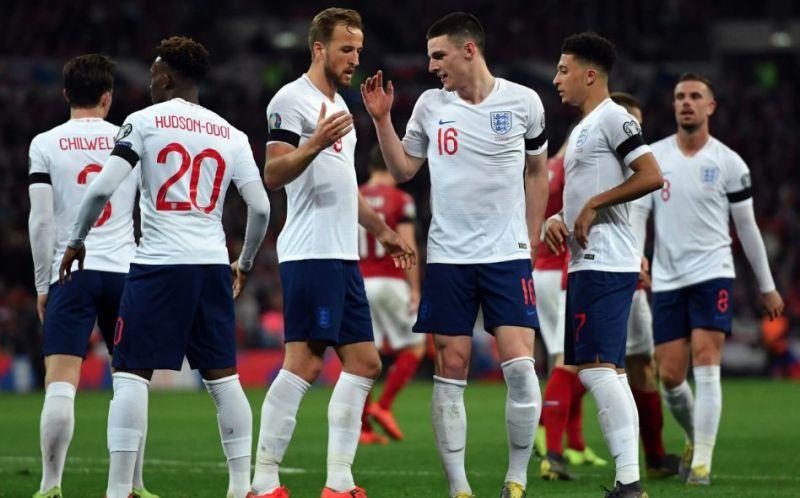 The England football team will go into the Euros as a top-side