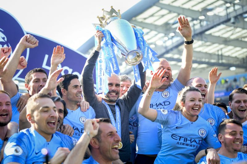 Guardiola has delivered two Premier League trophies during his time at Manchester City
