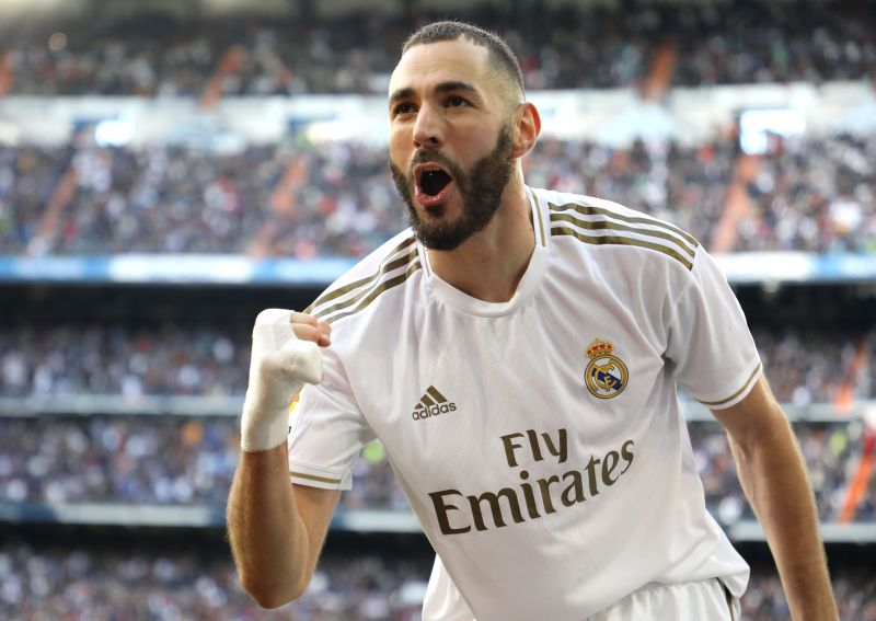 Benzema averages a goal every two games for Real