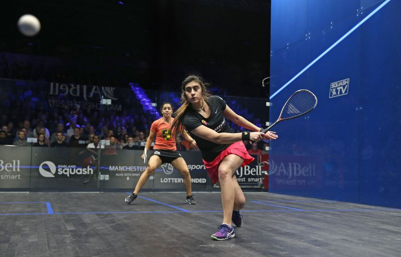 Squash does not feature in the Olympics