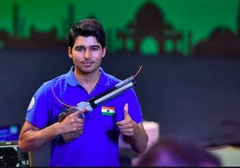 The young talent- Saurabh Chaudhary