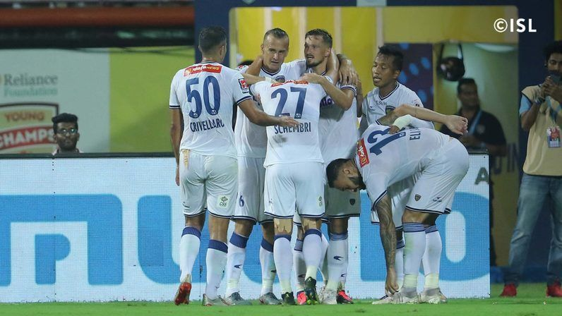 Chennaiyin emerged unscathed from a manic encounter
