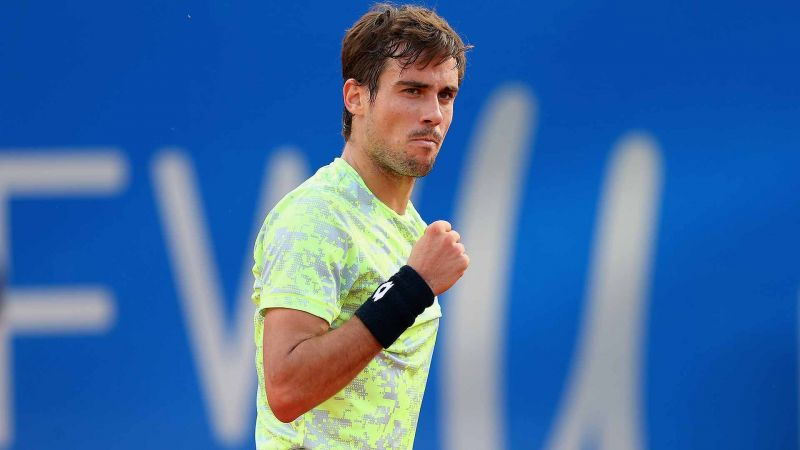 Guido Pella is seeded second at the Argentina Open