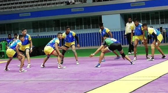 The 46th Senior National Kabaddi Championship has commenced from today.