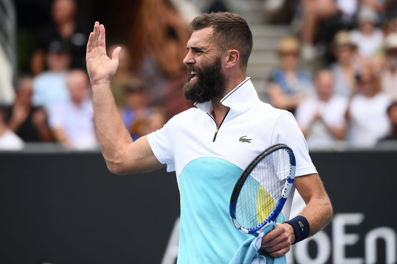 Paire has often struggled to keep himself calm in pressure situations