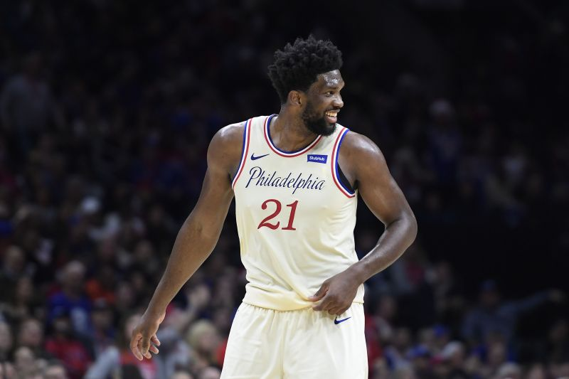 Joel Embiid is coming off one of the worst games of his career