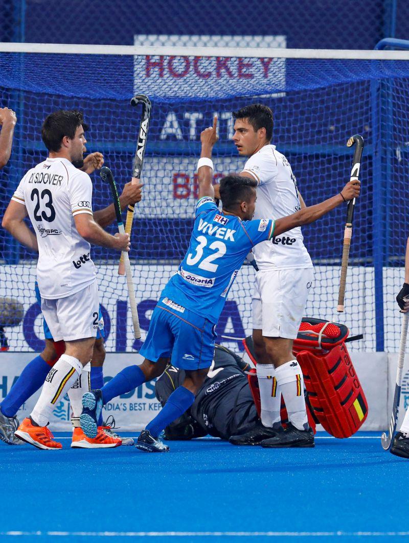 Vivek Sagar Prasad scored the equalizer (Image Courtesy: Hockey India)